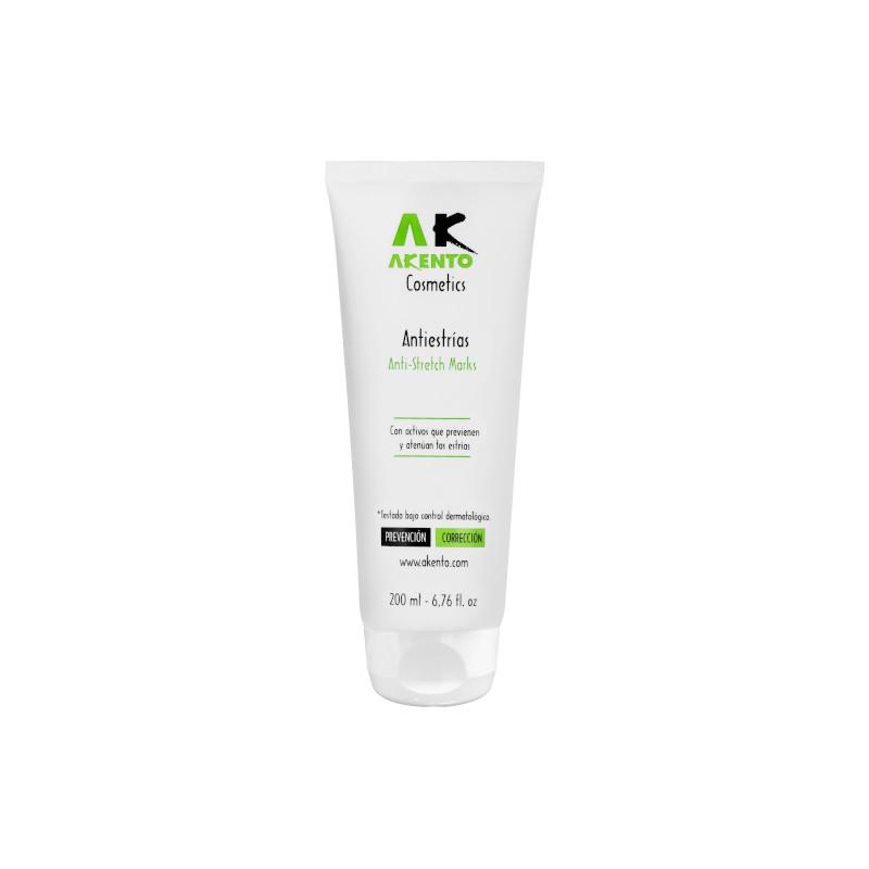 Crema antiestrías de Akento Cosmetics