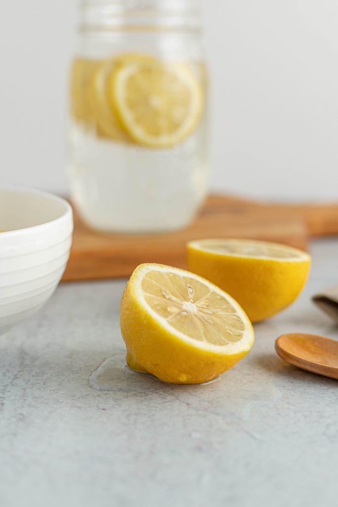 zumo limón