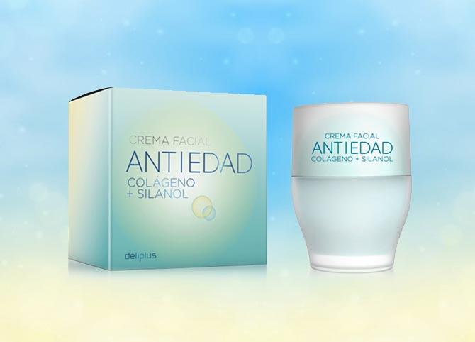 Crema Facial Antiedad Colágeno + Silanol